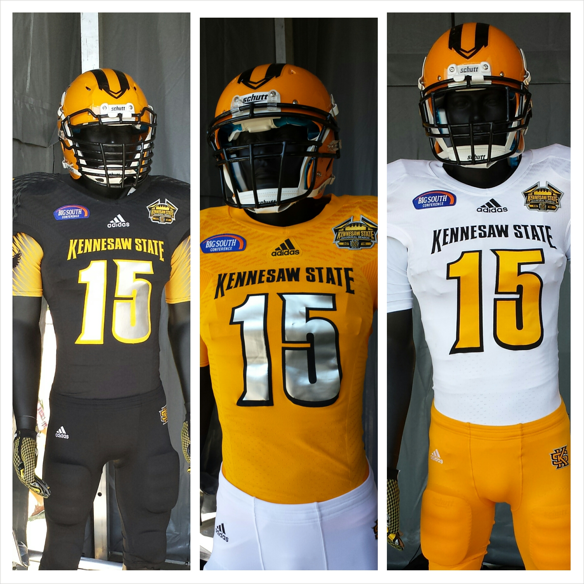 outlet store 2e779 85651 Kennesaw State Owls Football Uniforms Released | McCreary ...