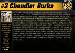 KSU #3 Burks Profile