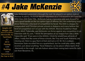 KSU #4 McKenzie Profile